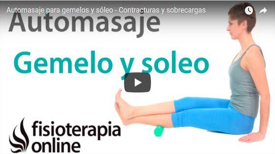 Pinchazo en el gemelo video | voyacorrer.com