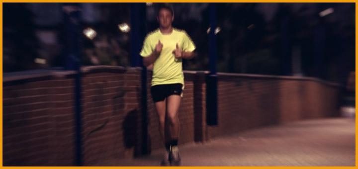 Consejos de como correr de noche