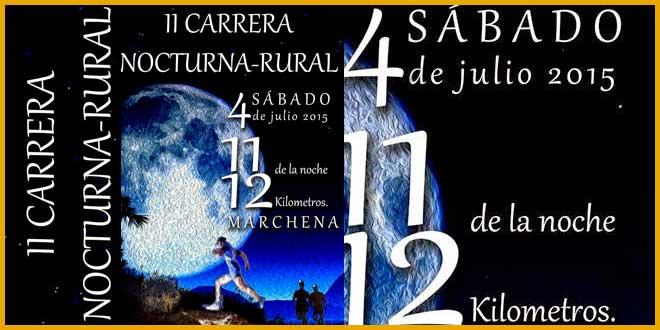 II Carrera Nocturna Rural de Marchena 2015 - voyacorrer.com