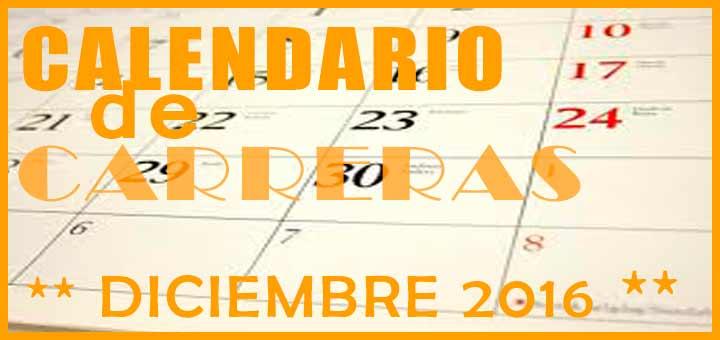Carreras populares en Andalucía para Diciembre 2016 |voyacorrer.com