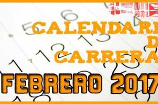 Carreras populares en Andalucía para Febrero 2017 | voyacorrer.com