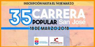 carrera popular san jose de la rinconada Ed. 2018 | voyacorrer.com