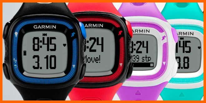 Relojes con gps Garmin Forerunner 15 | voyacorrer.com