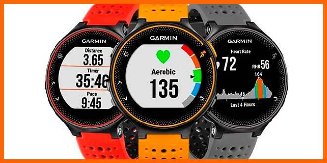 Relojes con gps Garmin Forerunner 235 | voyacorrer.com