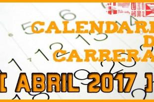 Carreras populares en Andalucía para Abril 2017 | voyacorrer.com