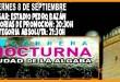 Cartel - XV carrera nocturna de la Algaba 2017 | voyacorrer.com