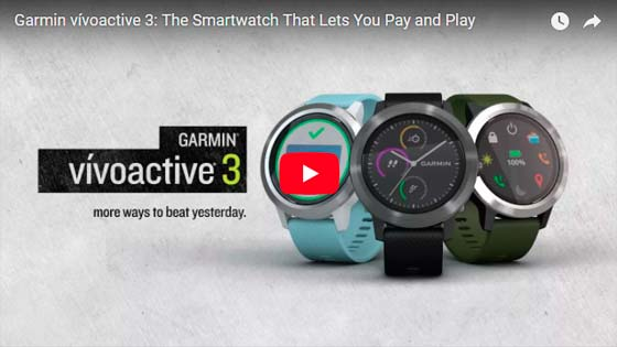 Garmin Vivoactive 3 video \ voyacorrer.com