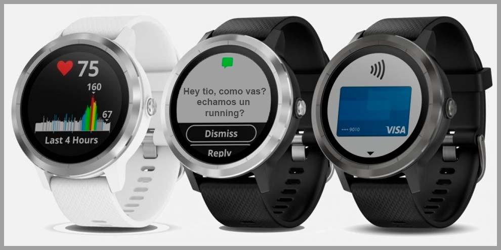 Garmin Vivoactive 3 el reloj inteligente de Garmin | voyacorrer.com