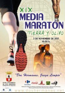 Media Maraton Tierra y Olivo Dos Hermanas 2017 - voyacorrer.com