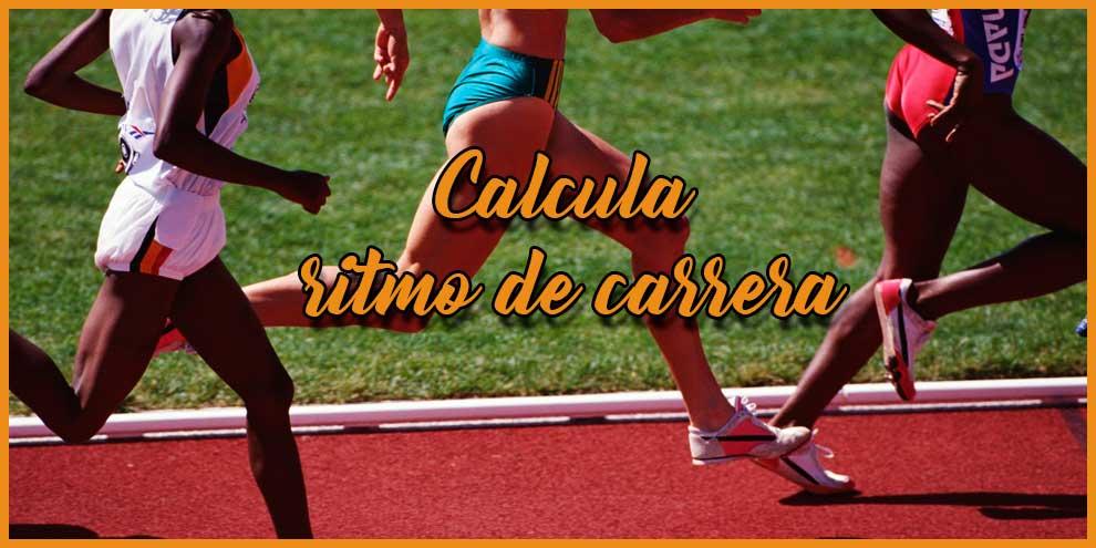 Calcula ritmo de carrera | voyacorrer.com