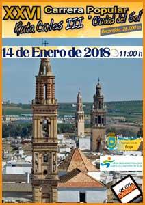XXVI Carrera Popular Ruta Carlos III - Ciudad del Sol, Écija   Voy a correr
