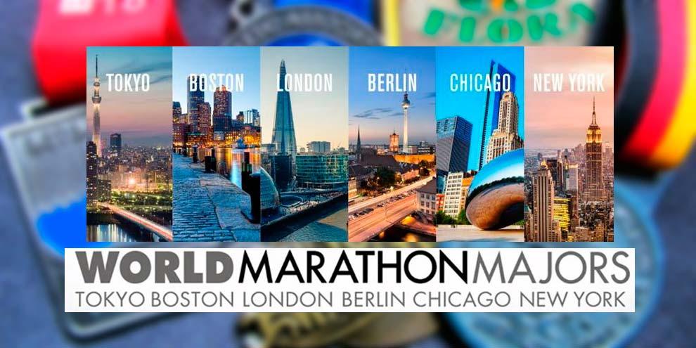 World Marathon Majors - six majors en voyacorrer.com