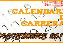 Carreras populares en Andalucía para Diciembre 2017