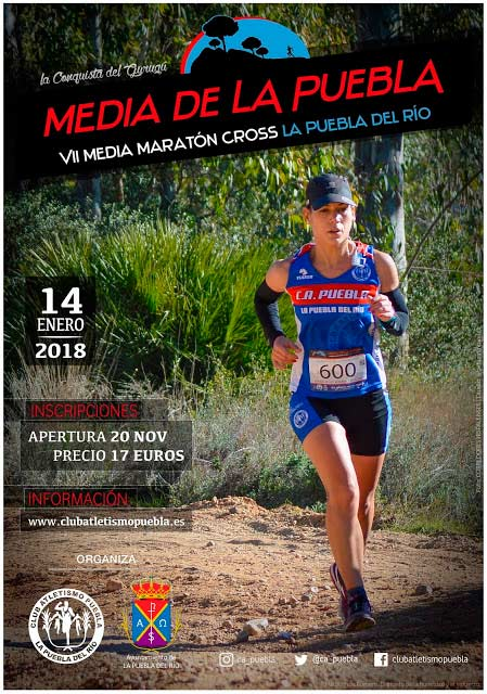 Media Maraton Cross La Puebla del Río 2018 / voyacorrer.com