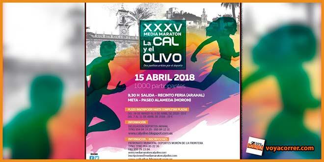 Media Maraton Cal y Olivo - voyacorrer.com